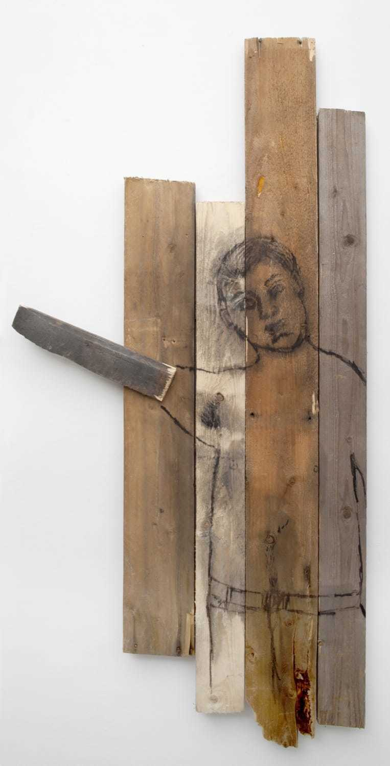 Camilla Vuorenmaa painting on wood