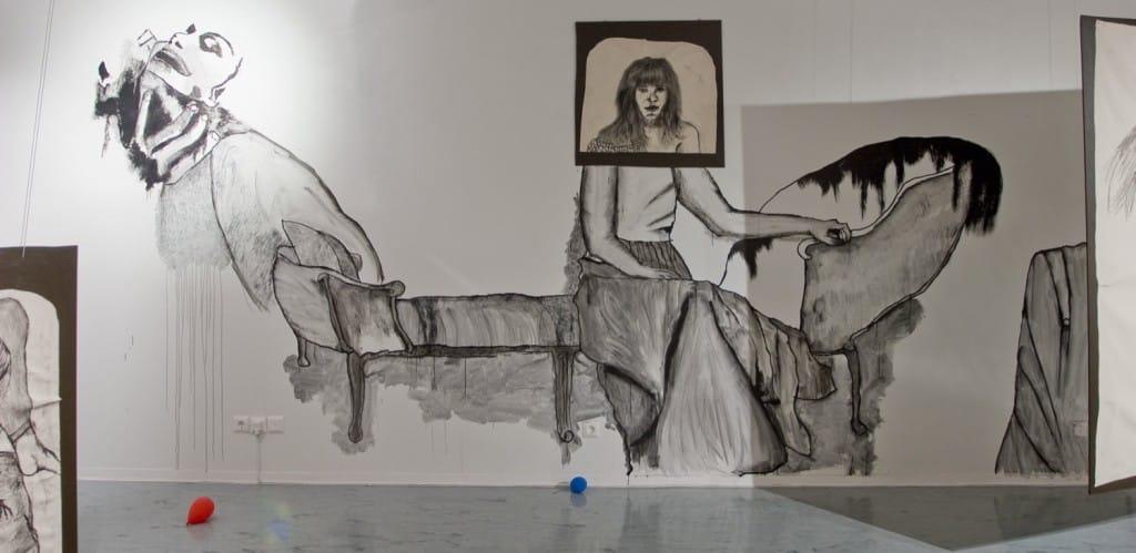 Wall painting Camilla Vuorenmaa